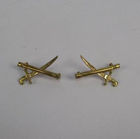 英軍ジェネラル Crossed batons ブラス