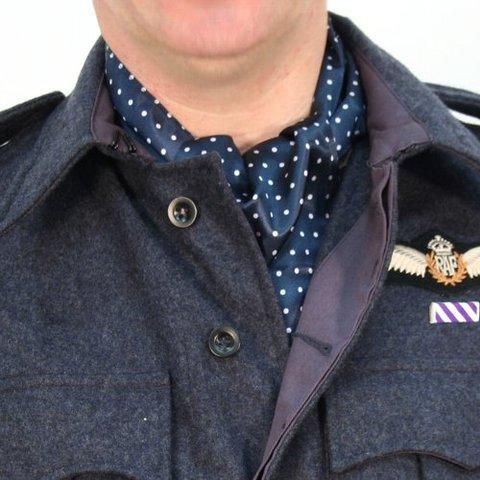 WW2英軍RAFアスコットタイ