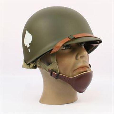 WW2★米軍パラトルーパーM1スチールヘルメット★506
