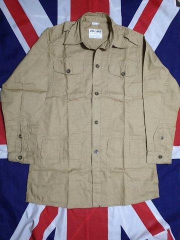 WW2イギリス軍★エアテックス・ブッシュジャケット★カーキドリル