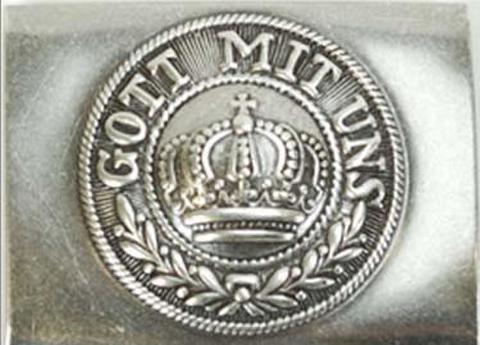 WW1 プロイセンベルトバックル GOTT MIT UNS