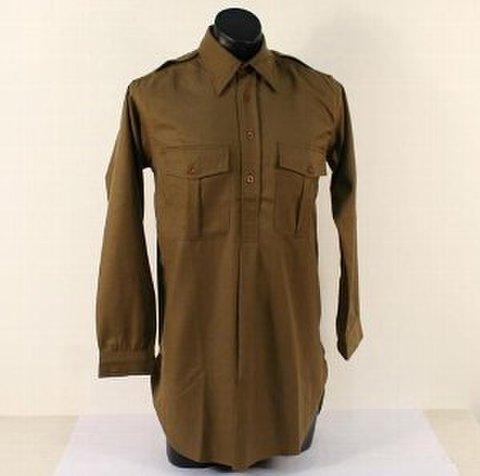 WW2英陸軍ウール襟付きシャツ