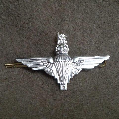 WW2★イギリス軍★パラレジメント★ベレーバッジ★空挺部隊