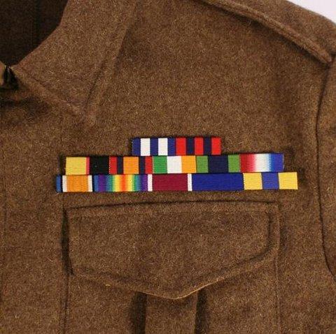 WW1従軍リボンバー