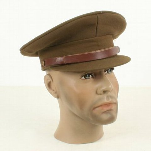 WW2★英陸軍オフィサーSDキャップ