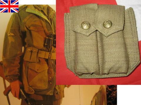 WW2★英軍・カナダ軍★ブローニング・マガジンポーチ