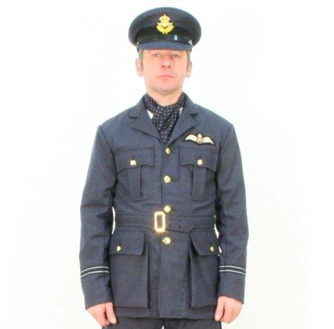 WW2★RAFオフィサー・サービスドレスJK