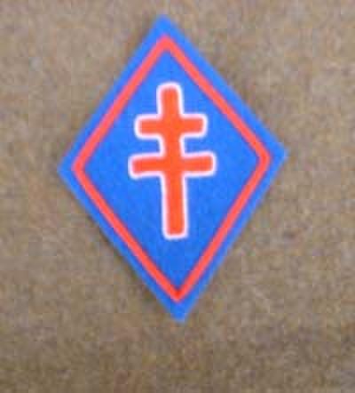 WW2自由フランス軍★Cross of Lorraine