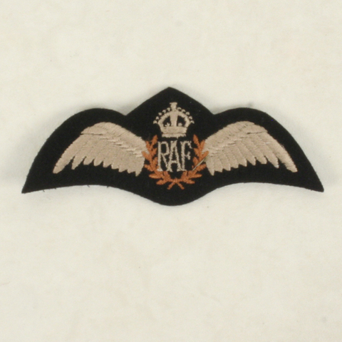 WW2英軍★RAFキングズクラウンパイロットウイング