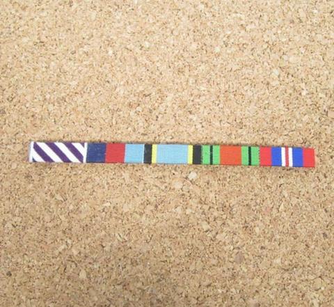 WW2英空軍RAF★5メダル Air Crewリボンバー