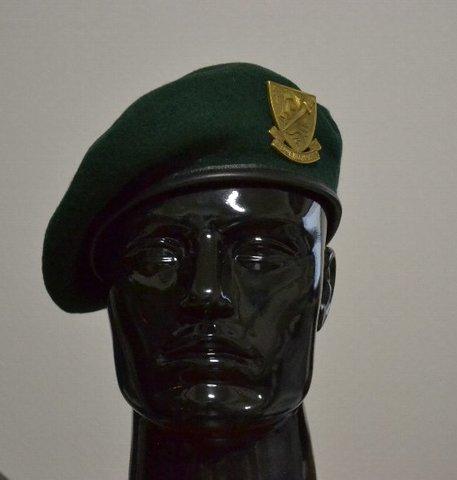 WW2自由フランス軍★海兵コマンド部隊バッジ付ベレー