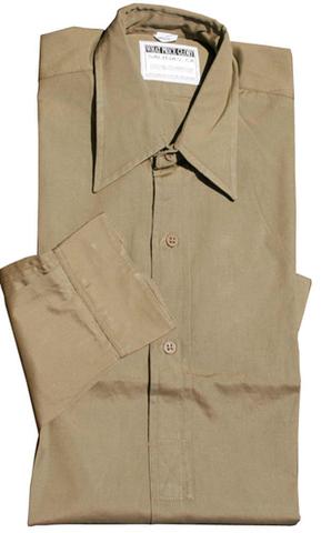 WW2★イギリス陸軍将校★コットンポプリンシャツ