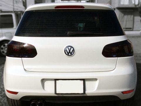 Tint+ VW ゴルフ6 1KC系 ハッチバック テールランプ&リアゲートガーニッシュ 用