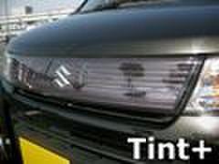 Tint+ スズキ ワゴンR MH23S スティングレー フロントグリル 用 ★ライトスモーク