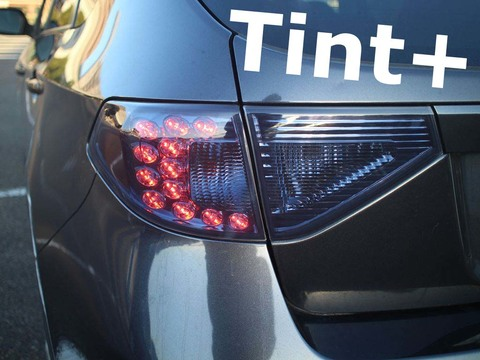 Tint+ スバル インプレッサ ハッチバック GH2/GH3/GH6/GH7/GH8 テールランプ&リアガーニッシュ 用