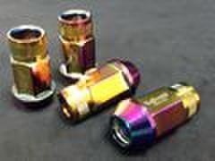 ホイールナット ネオクローム アルミ鍛造 M12xP1.5 4本セット