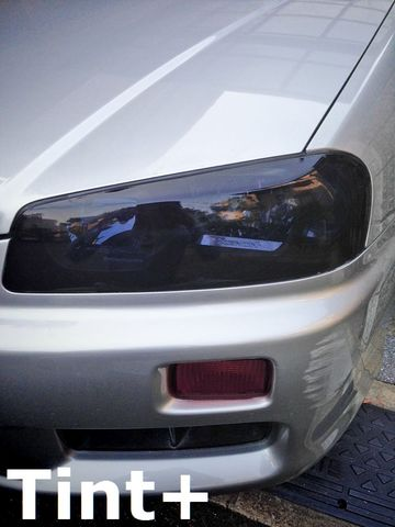Tint+ 日産 スカイライン セダン/クーペ/GT-R R34 前期/後期 ヘッドライト&ウィンカー 用