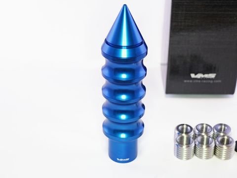 シフトノブ スパイク型 ブルー