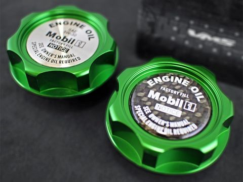 エンジンオイルキャップ Type3 スズキ専用 グリーン