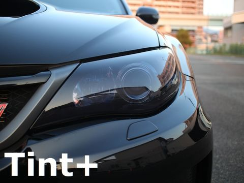 Tint+ スバル インプレッサ セダン WRX STI GVB/GVF / アネシス GE2/GE3/GE6/GE7 ヘッドライト 用
