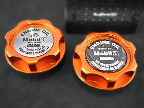 エンジンオイルキャップ Type3 ホンダ専用 オレンジ