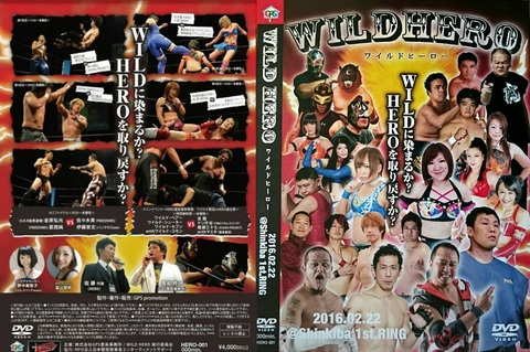 WILD HERO DVD