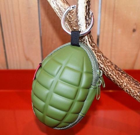 手榴弾型 キーケース コインケース 財布 Motif ハンドグレネード型