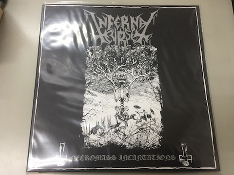 Infernal Curse/Deathly Scythe - Demos Split LP