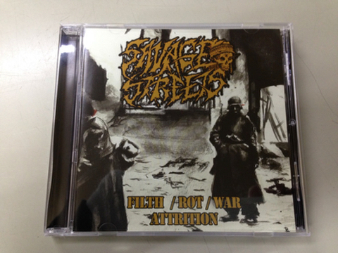 Savage Streets - Filth / Rot / War / Attrition CD