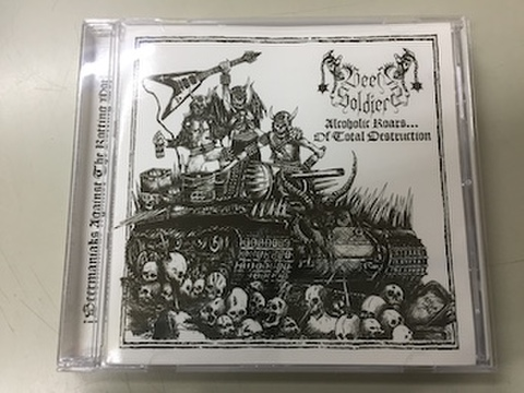 Beer Soldiers - Alcoholic Roars of Total Destruction CD