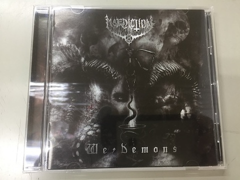 Malediction 666 - We, Demons CD