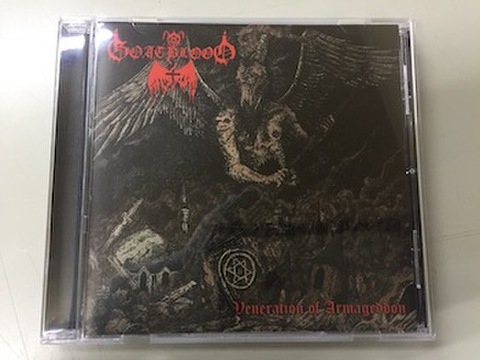 Goatblood - Veneration Of Armageddon CD