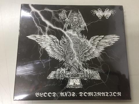 Nechbeyth - Blood. Axis. Domination デジパックCD