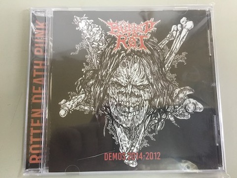 Buried to Rot - Demos 2014-2012 CD