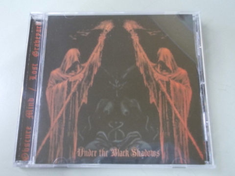 Obscure Mind / Lost Graveyard - Under the Black Shadows split CD
