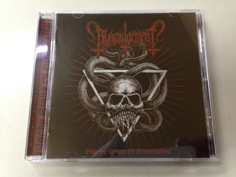 Black Torment ‎- Bloody Signs Of Devastation CD