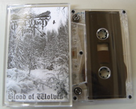 GREAT VAST FOREST - Blood of Wolves テープ