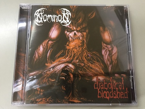 Nominon - Diabolical Bloodshed CD(+2 Bonus tracks)(Bloody Productions)