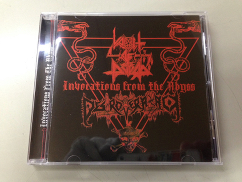 Vomit of Doom / Destroyer Attack - Invocations from the Abyss CD