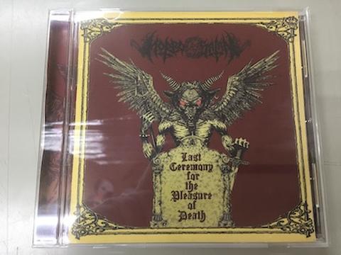 Morbosatan - Last Ceremony for the Pleasure of Death CD
