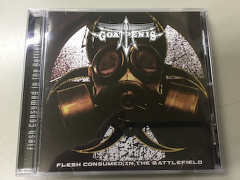 Goatpenis - Flesh Consumed in the Battlefield CD