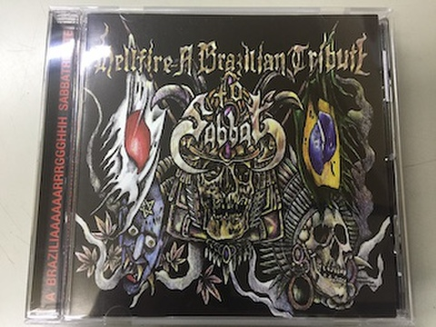 V.A. - Hellfire : A Brazilian Tribute to Sabbat CD