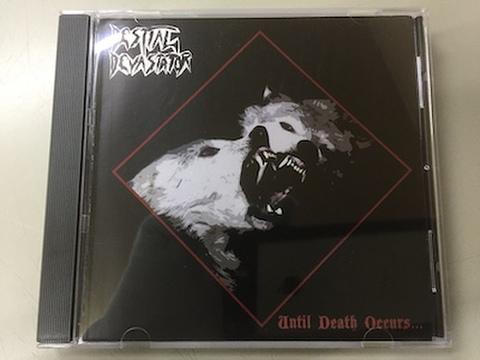Bestial Devastator - Until Death Occurs… CD