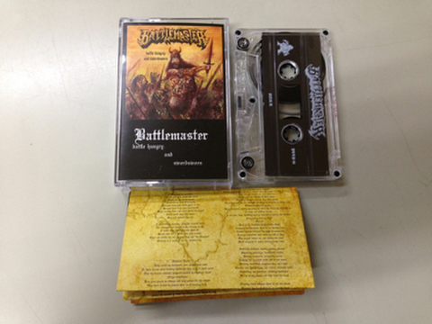 Battlemaster - Battlehungry and Sword Sworn テープ