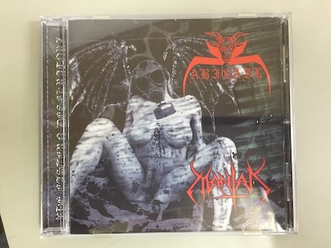 Abigail/Mantak - The Eastern Desekkatorz Split CD