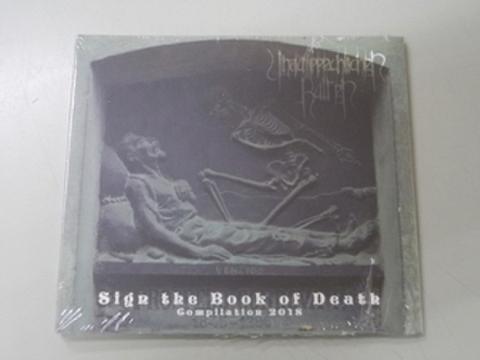 Unaussprechlichen Kulten - Sign the Book of Death CD