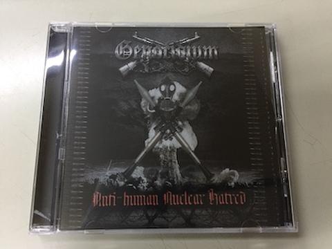 Genocidium - Antihuman Nuclear Hatred CD