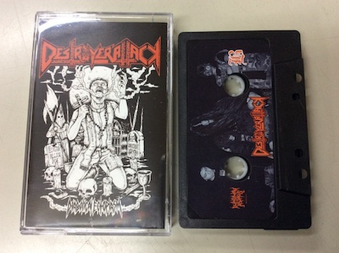 Destroyer Attack - Diabolical Ectoplasm テープ