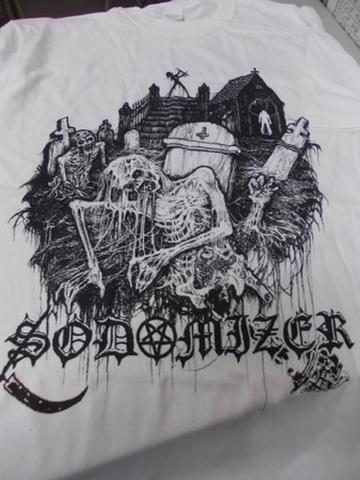 Sodomizer - オフィシャルTシャツ(バックプリント有り)