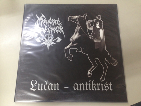Maniac Butcher- Lučan - Antikrist LP